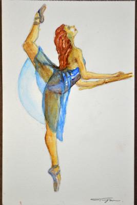 Blue Dancer - Misty